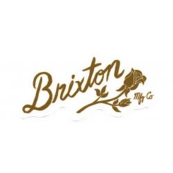 Brixton Rose - Brown - M pegatina