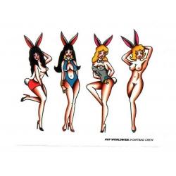 HUF - Bunny Girls - Sticker