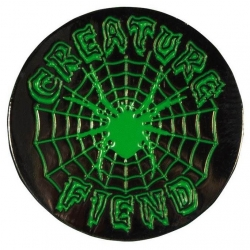 Creature Fiend Web Pin Black pins-badge
