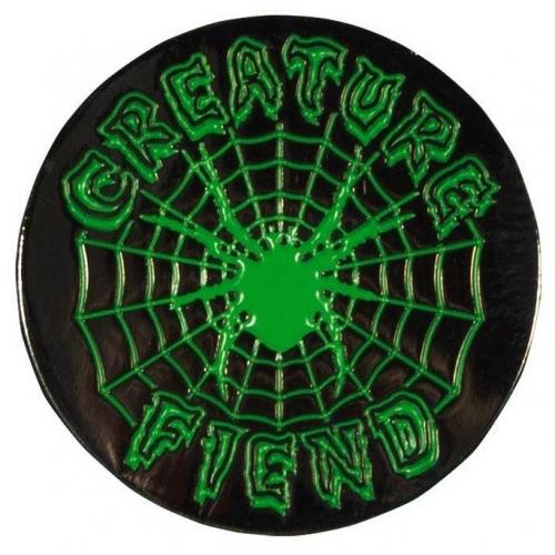 Fiend Web Pin Black