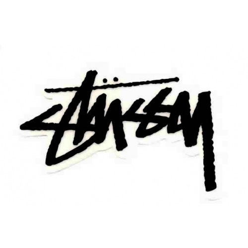 Stussy Original Stock decal - Black