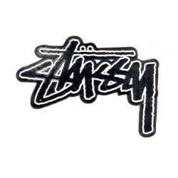 Stussy Stussy Original Stock decal - Silver sticker