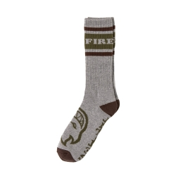 Spitfire BIGHEAD CUFF BLACK - RED socks