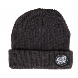 Santa Cruz Outline Dot - Black beanie