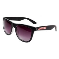 Santa Cruz Check Strip - Black lunettes-de-soleil