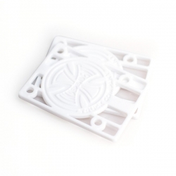 Independent Trucks CO Risers Pads 1/8' White pads