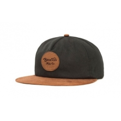 Brixton Ltd Wheeler Cap - Black Copper casquette
