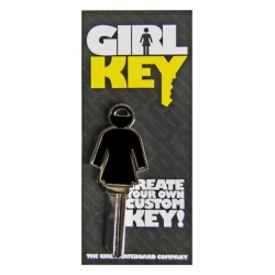 Girl Girl key keyrings