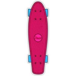 Penny Vloer roze sticker