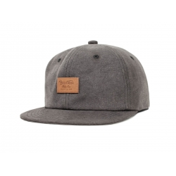 Brixton Crooner - Washed Black cap