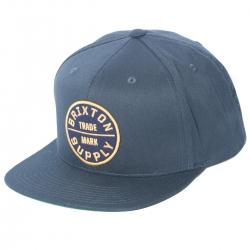 Brixton Oath III - Washed navy casquette