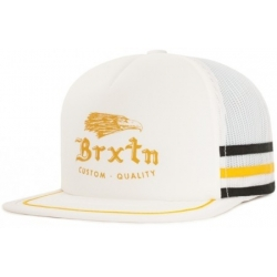Brixton Wilson Snap Back - White Black cap