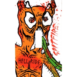 Spitfire Hellride - Neckface sticker