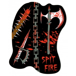 Spitfire Chain - Neckface sticker