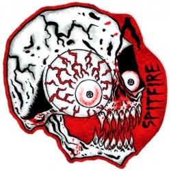 Spitfire Skull - Neckface sticker