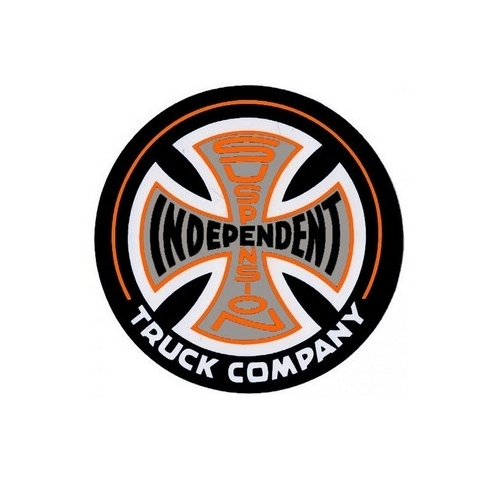 Suspension Sketch decal - Black/Orange - M