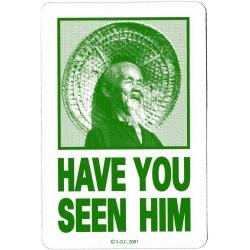 Powell Peralta Hast du ihn gesehen - Grün aufkleber
