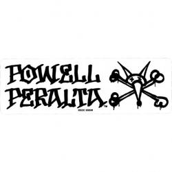 Powell Peralta Vato Rat - Preto autocolante