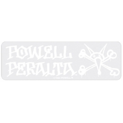 Powell Peralta Vato Rat - White sticker