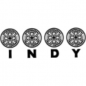 Four Of A Kind Decal - Black