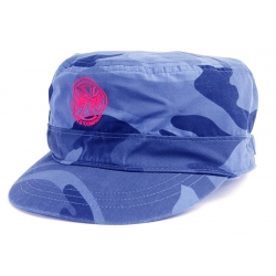 Independent Army Camo Blue Grey casquette