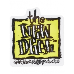 New Deal Napkin Yellow sticker