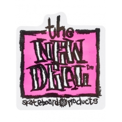 New Deal New Deal Napkin Pink Sticker sticker