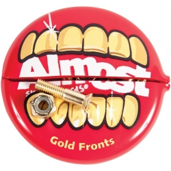 Almost Allen 0.875 Inch Gold Mouth screws