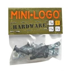 Mini Logo 1 inch cruciform screws