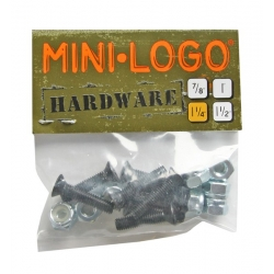 Mini Logo Cruciform 1.25 Inch screws