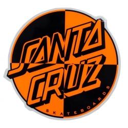 Santa Cruz santa cruz Crash Dot sticker sticker