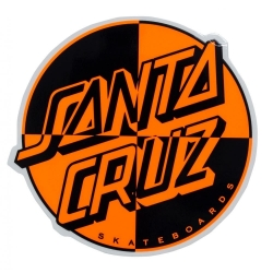 Santa Cruz sticker santa cruz Crash Dot sticker