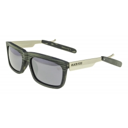 Black Flys Razor Fly 2 Grey Wood / Lente Smk occhiali-da-sole