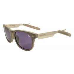Black Flys Razor Fly 1 Cream Wood / Smk lunettes-de-soleil