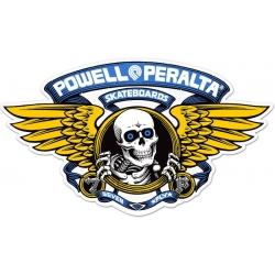 Powell Peralta Skateboards Winged Ripper Blue sticker