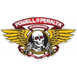 Powell Peralta Skateboards Winged Ripper Red sticker