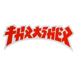 Thrasher Godzilla Die Cut - White Red - S sticker