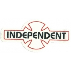 Independent O.G.B.C. decal - White - Large sticker