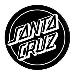 Santa Cruz Classic Dot - Black - Large sticker