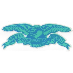Anti-Hero Spray Eagle - Green Teal - Large sticker