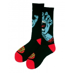Santa Cruz Screaming Hand - Socks - Black chaussettes