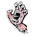Screaming Hand Tattoo Mid