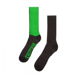 Creature Green Ii Tall Apparel Black socks