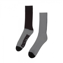 Creature Fifty Fifty Crew Black Green socks