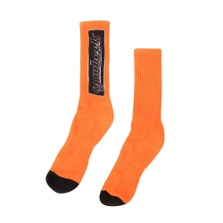 OJ OJ Bar Crew Orange socks