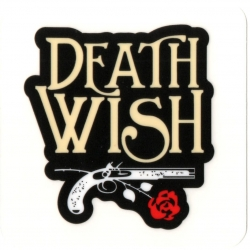 Deathwish Skateboards Old Gun sticker