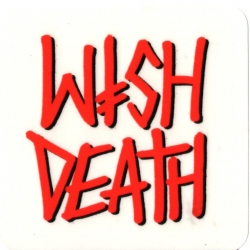 Deathwish Skateboards Spray Logo sticker