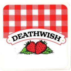Deathwish Strawberry sticker