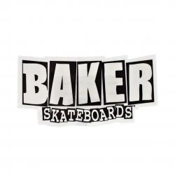 Baker Brand Logo Small sticker
