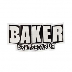 Baker Brand Logo Small sticker